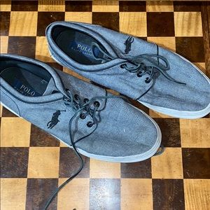 Men's Ralph Lauren polo shoes